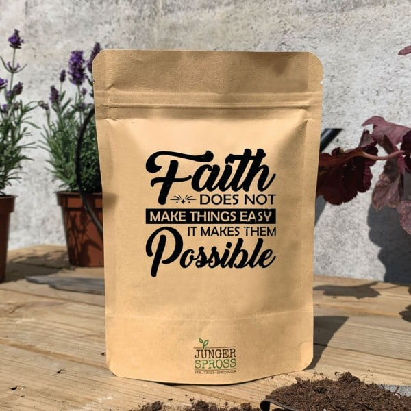 Faith does not make things... (Salbei)