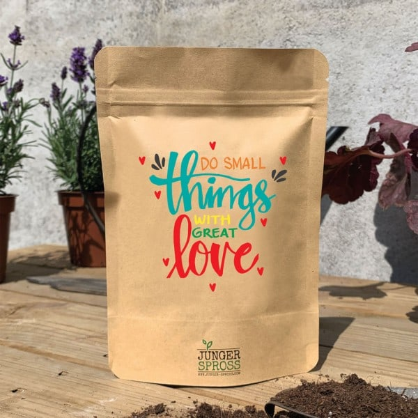 Do small things with great love (Gartenkresse)