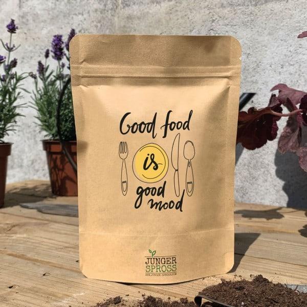 Good food is good mood (Radieschen)