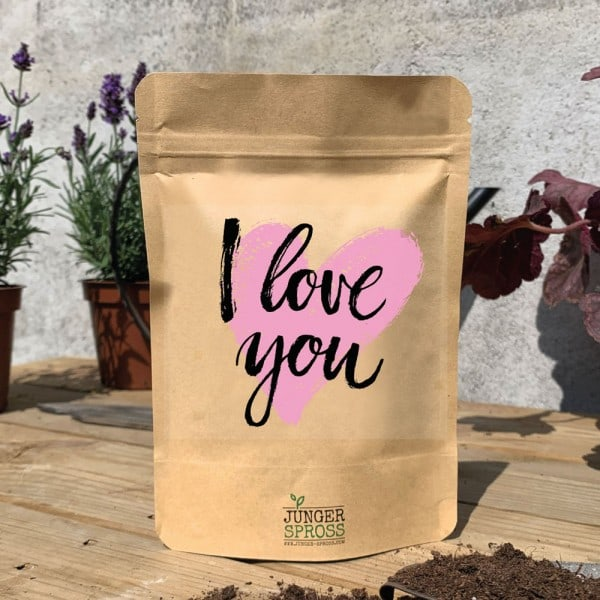 I love you (Sonnenblume)
